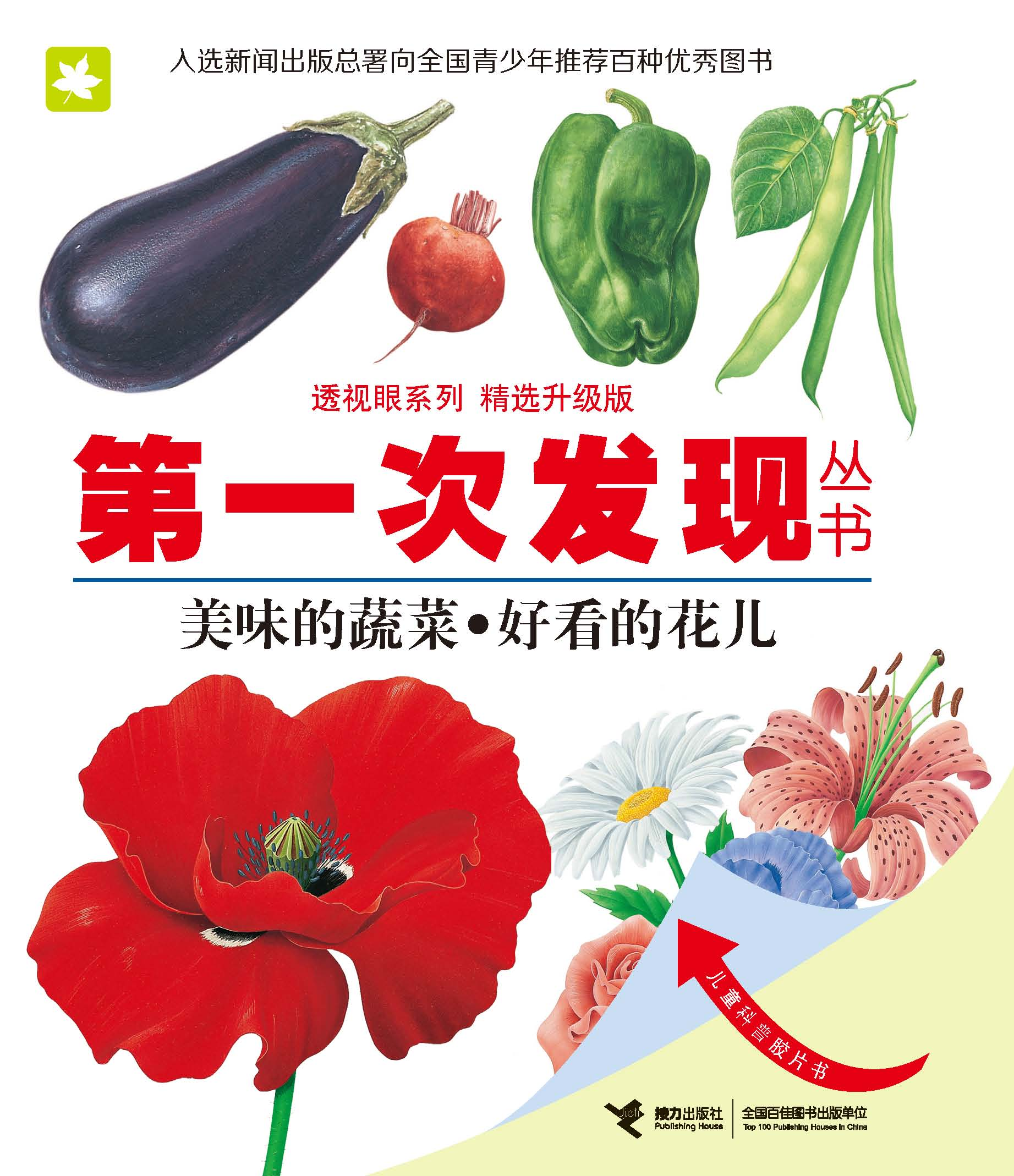 第一次發現叢書.透視眼系列:精選升級版:美味的蔬菜·好看的花兒